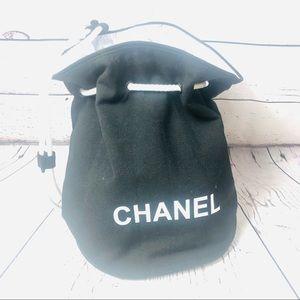 Chanel Canvas Drawstring Bucket Pool Beach Bag